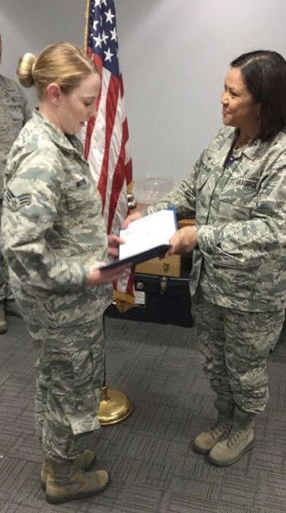 serving in the Air National Guard