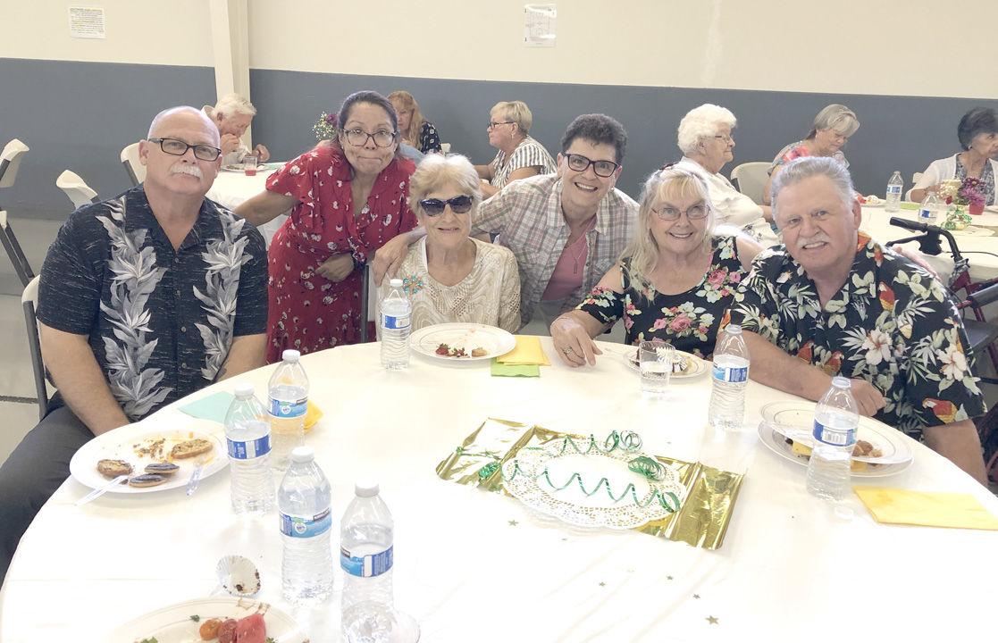 Senior Club celebrates