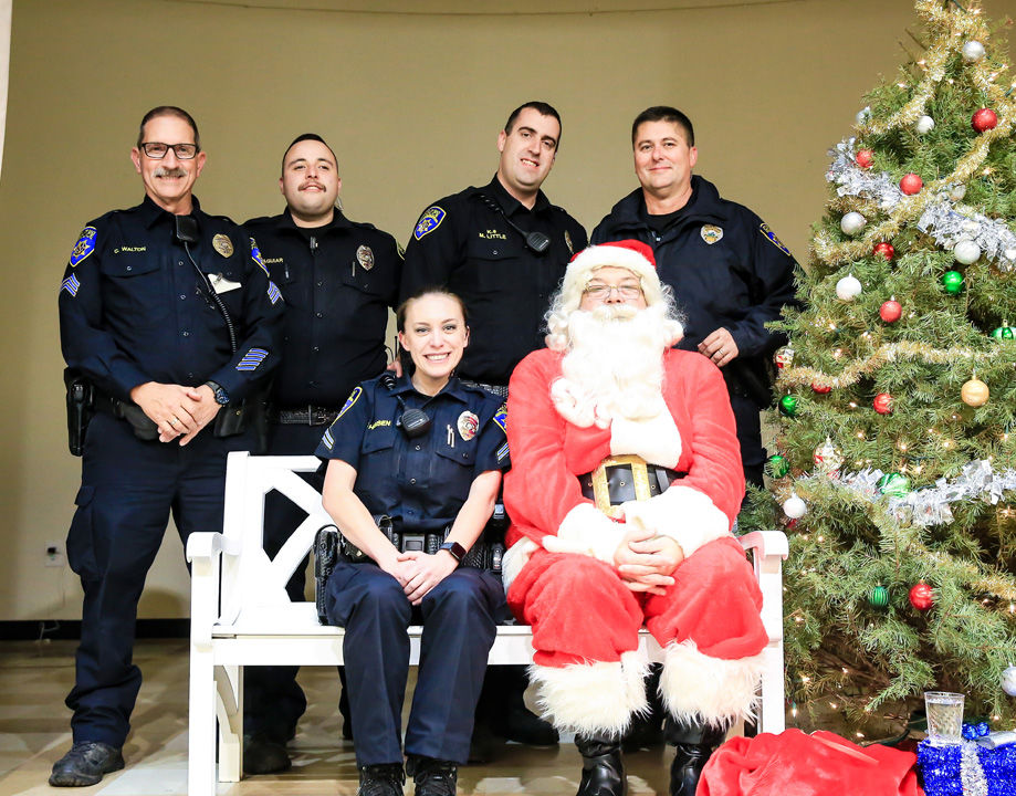 Members of the Galt Police Department