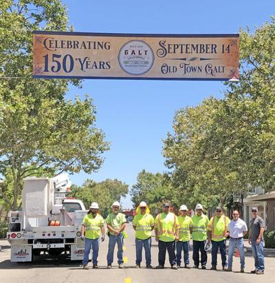Sesquicentennial banner success