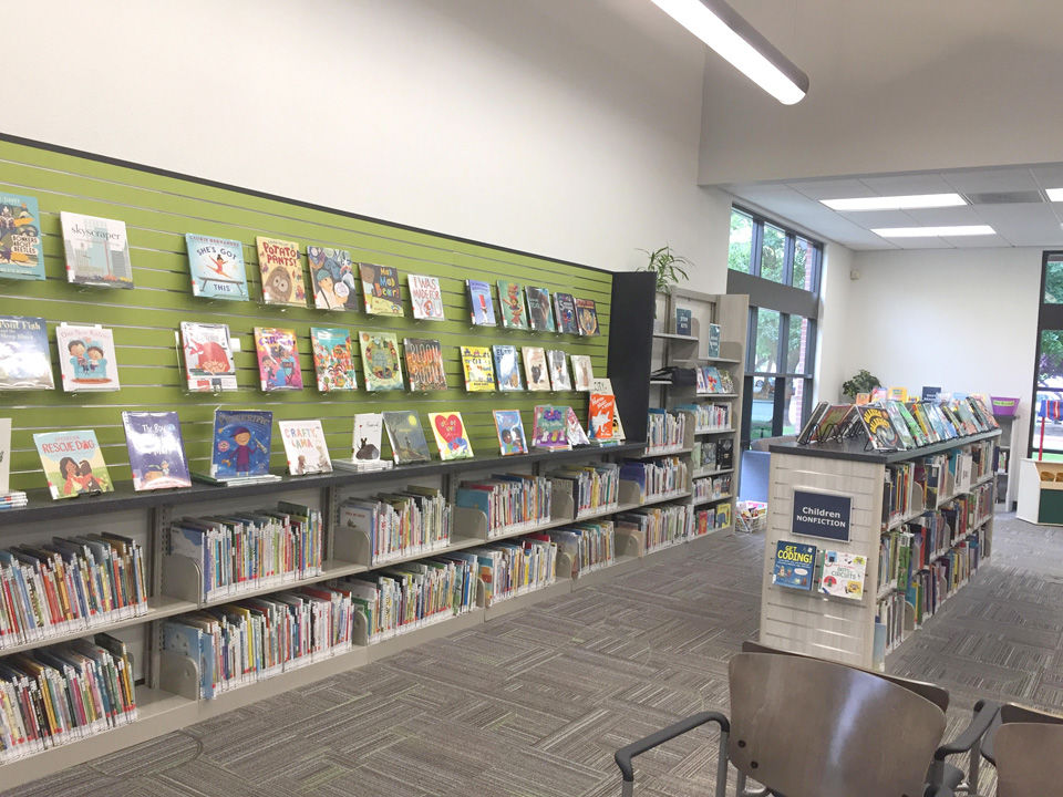 Library reopened