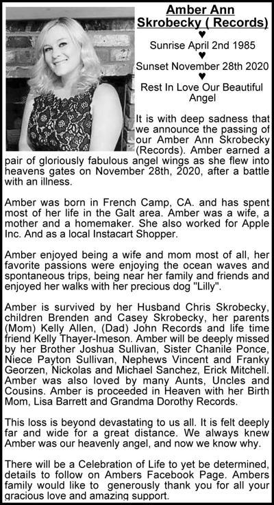 Amber Ann Skrobecky (Records)