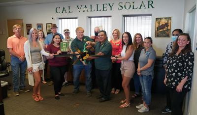Cal Valley Solar joins chamber