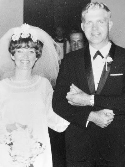 Bonnie and Ralph Port celebrate 50th anniversary