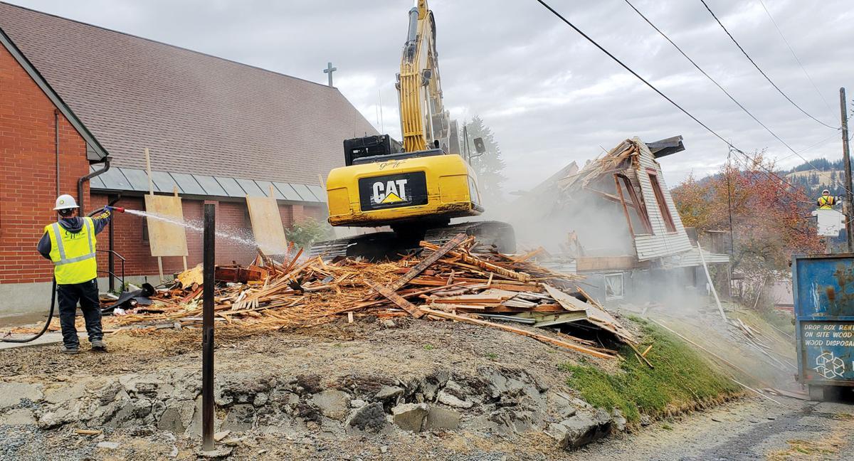 Rectory demolition