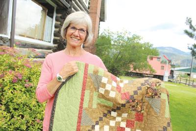 Karen Thurston is featured quilter