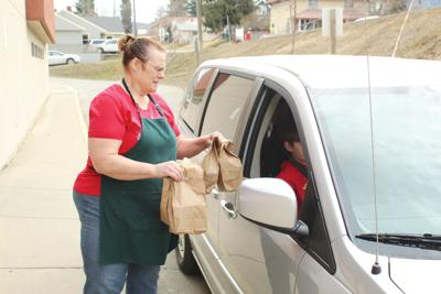 Schools continue meal service