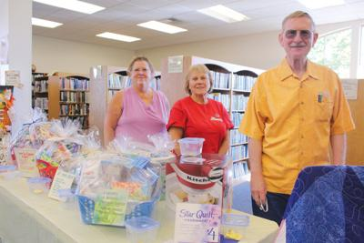 Raffle offers various prizes at Plummer Library