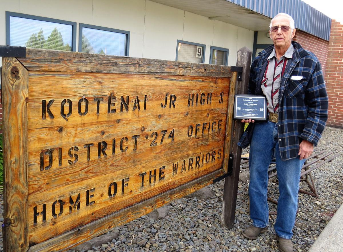 Carl Carlson earns state honor for work with Kootenai schools