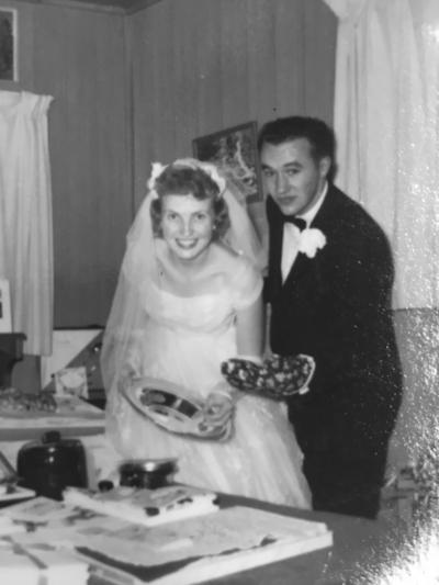 Bud and Sonja Harvey celebrate 60th anniversary