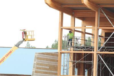Worley center work progresses