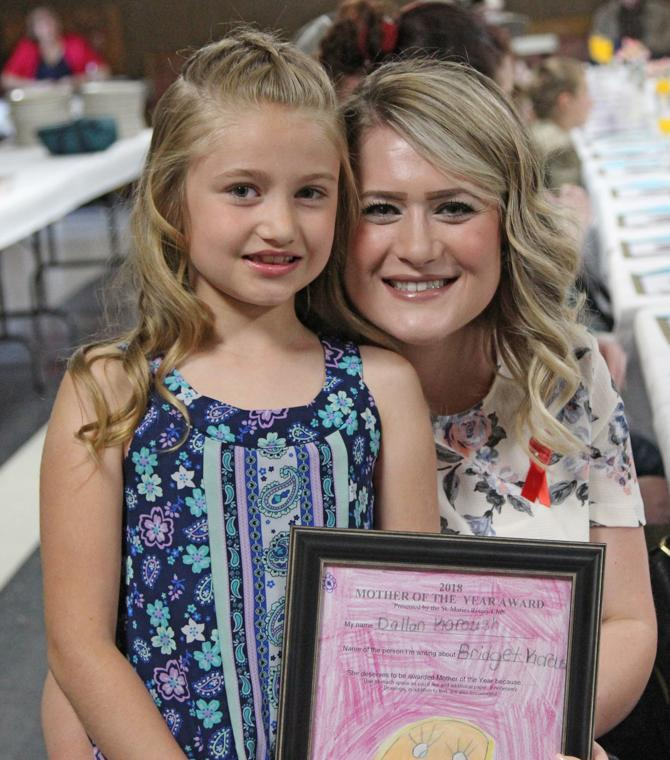 Local mom honored at Elks brunch