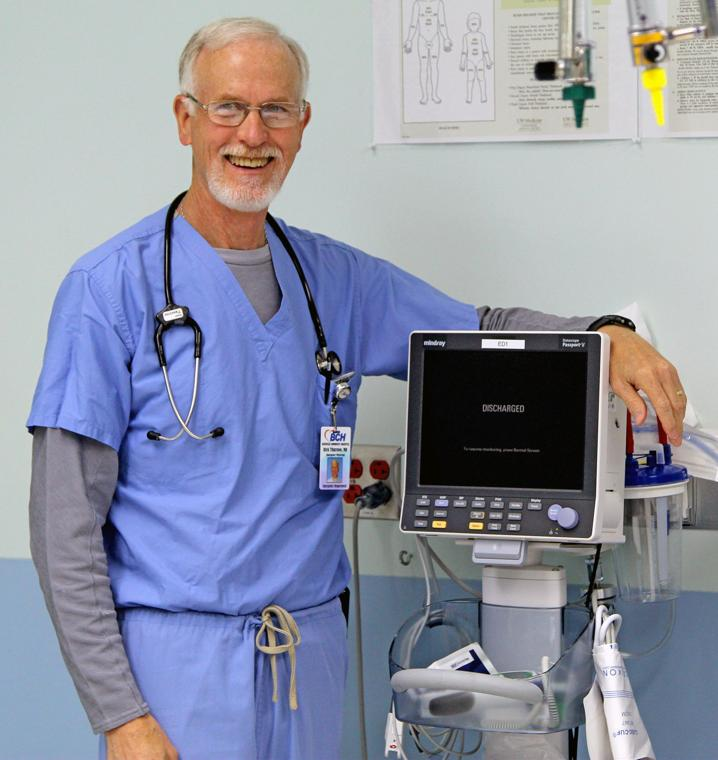 After 27 years, Dr. Thurston writes Rx for R&R