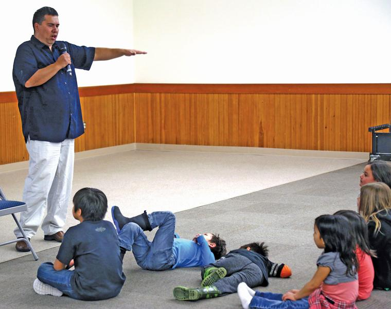 Tribe revives storytelling tradition