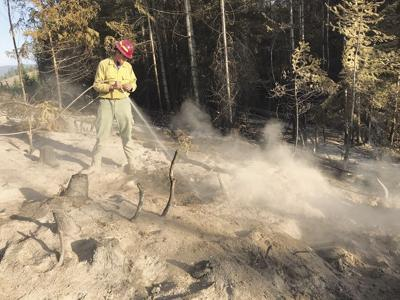State reports good progress on two area forest fires