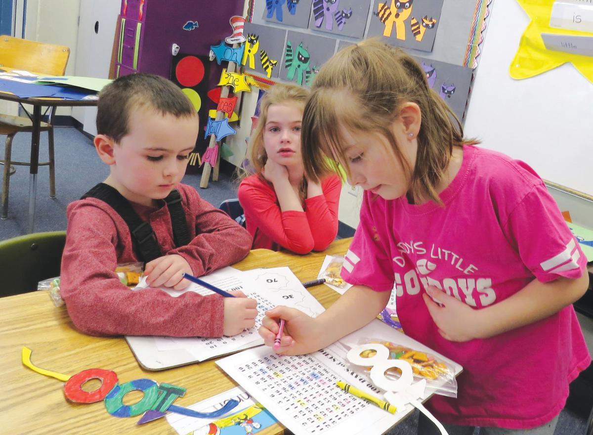 Harrison Elementary celebrates 100 days