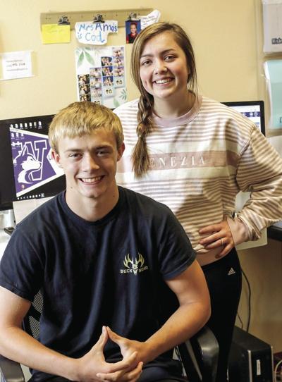 Larson ,Maitland top students at Kootenai