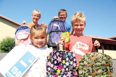 Church offers school backpacks