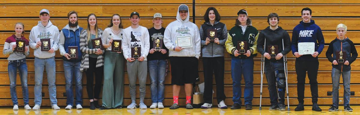 SMHS winter sports awards