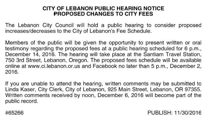City of Lebanon-Administration Offices