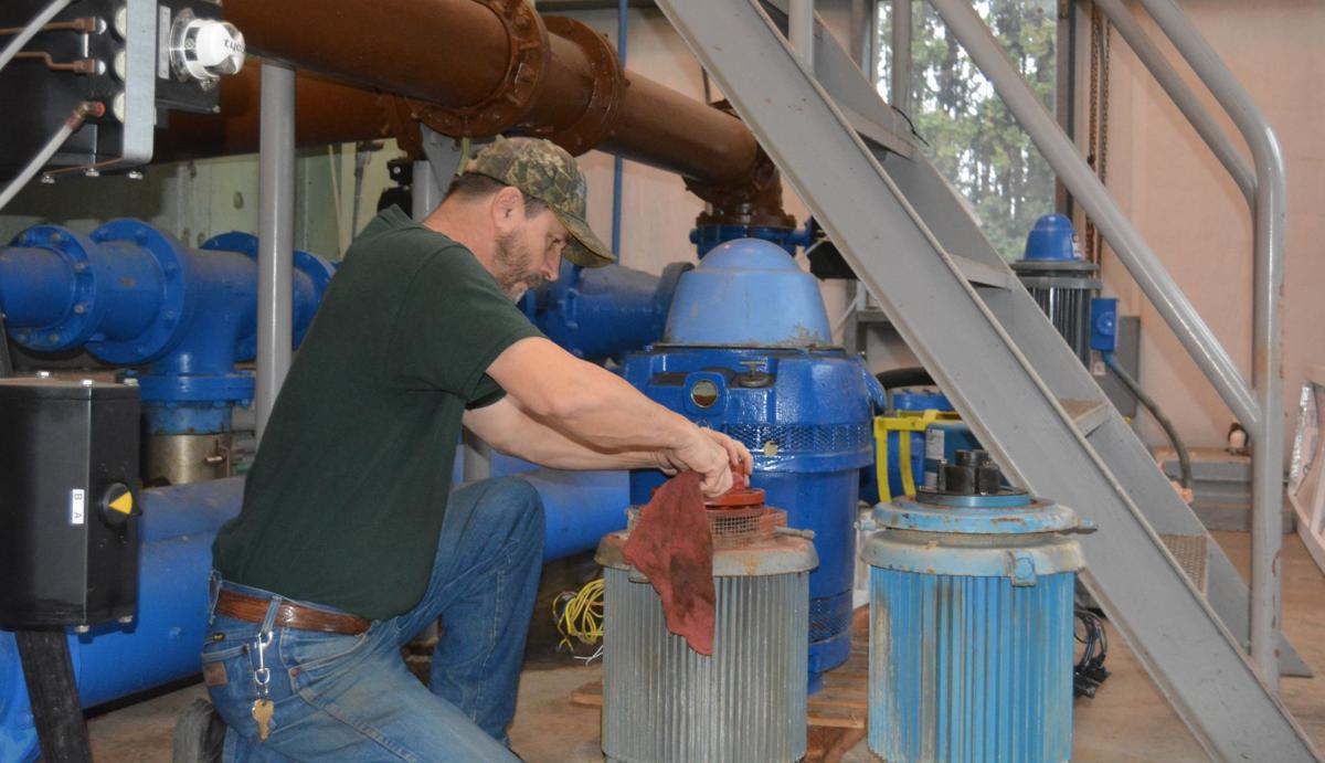 Philomath water treatment plant