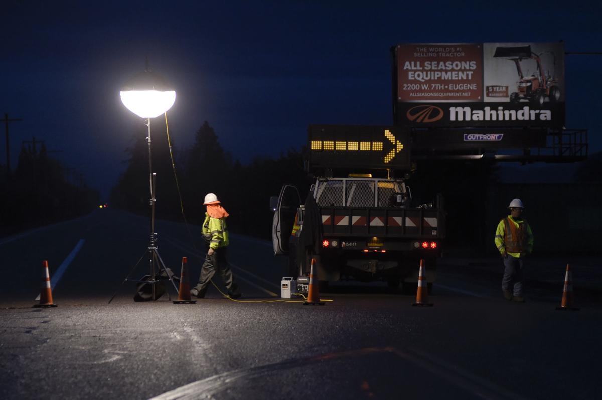 Highway 99 West Accident