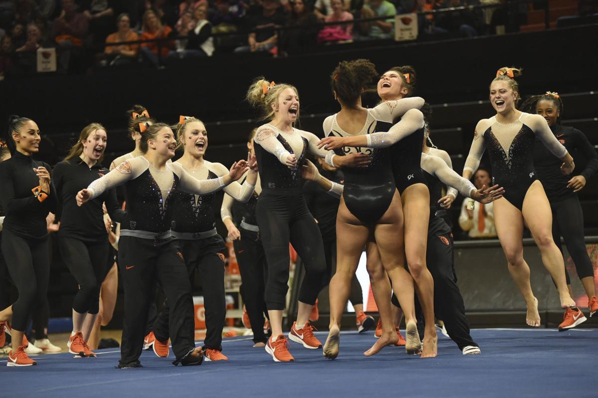 Oregon State vs. Utah Gymnastics