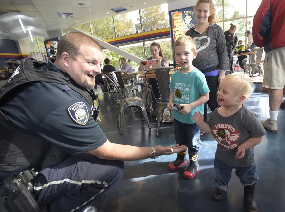 police take over dutch bros  on listening tour
