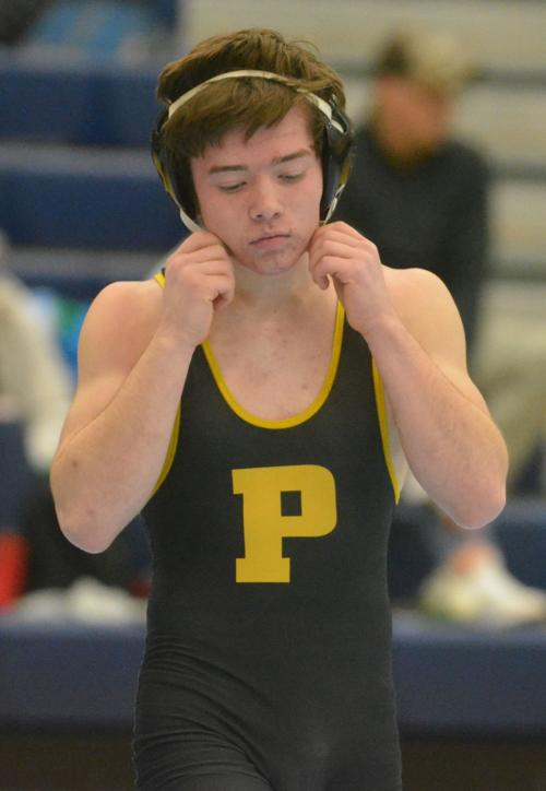 PHS wrestling: Caleb Blackburn