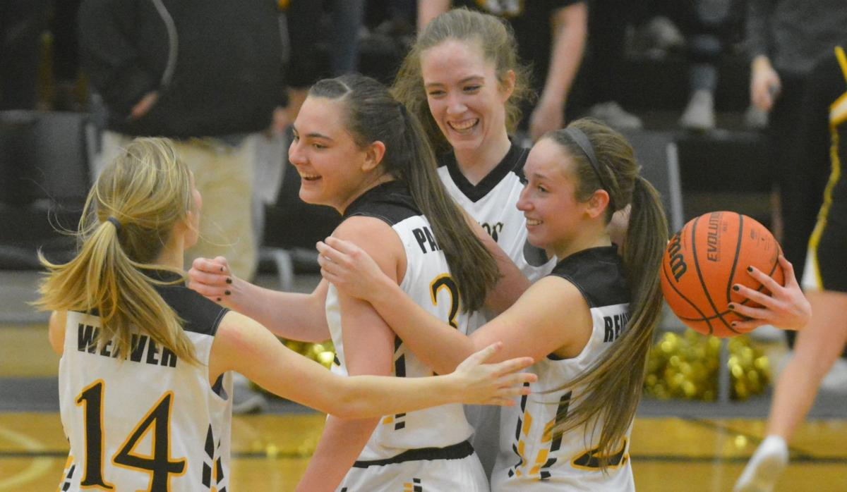 PHS girls basketball: Celebrating a win