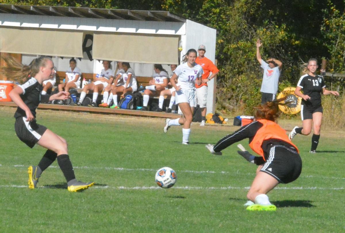 PHS girls soccer: K Bacho