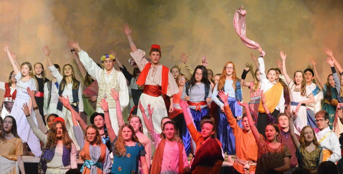 Philomath Middle School's Aladdin Jr.