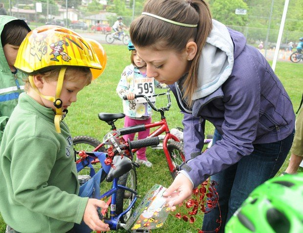 Kids get chance to ride, learn during Spring Roll