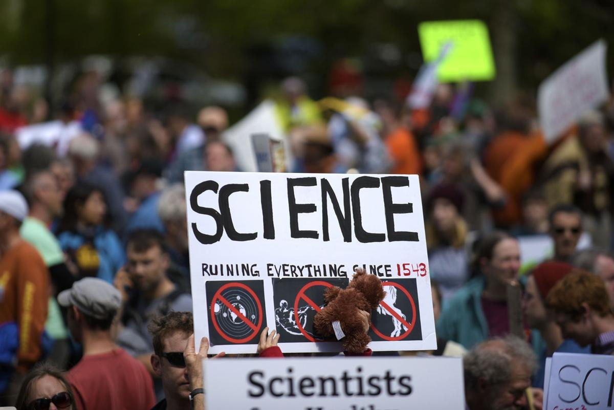 2. Science march draws thousands in Corvallis