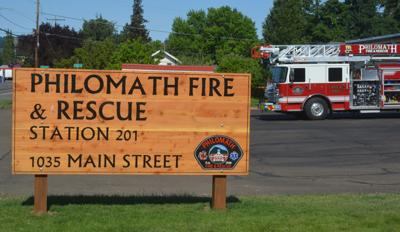 Philomath Fire & Rescue artwork