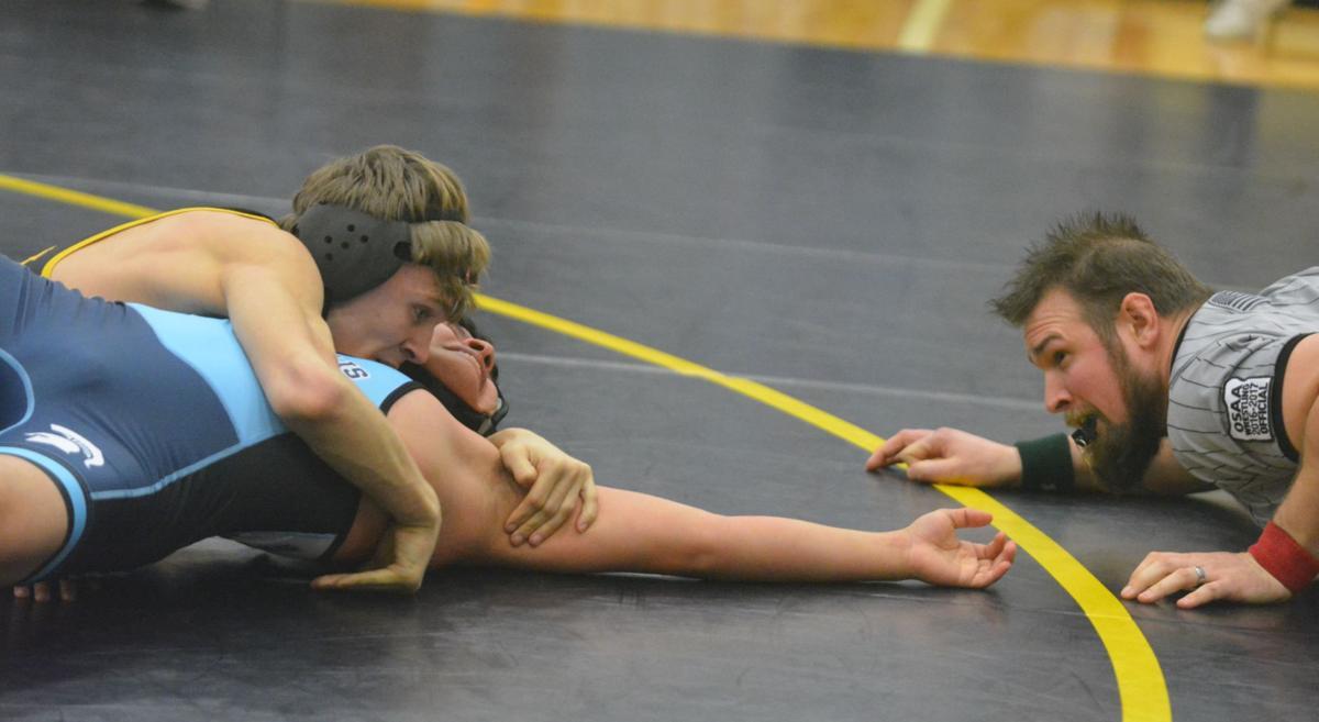 PHS wrestling: Keltin Benson