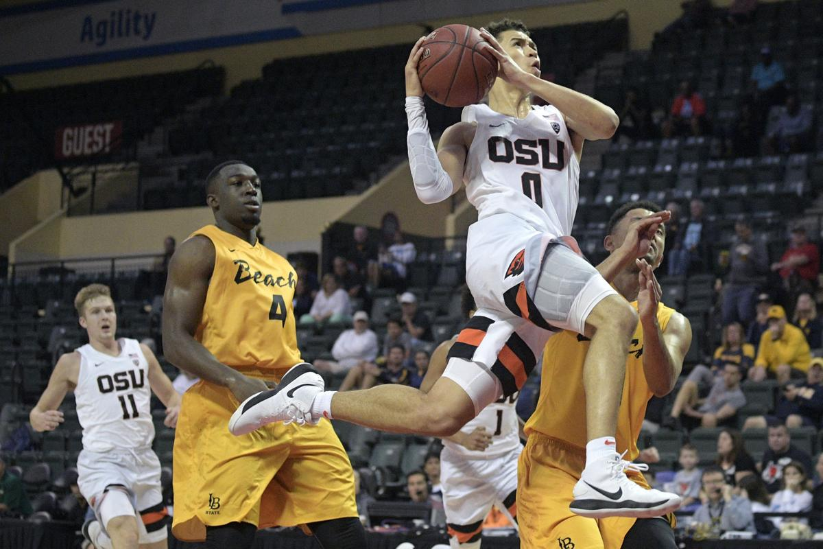 Long Beach St Oregon St Basketball