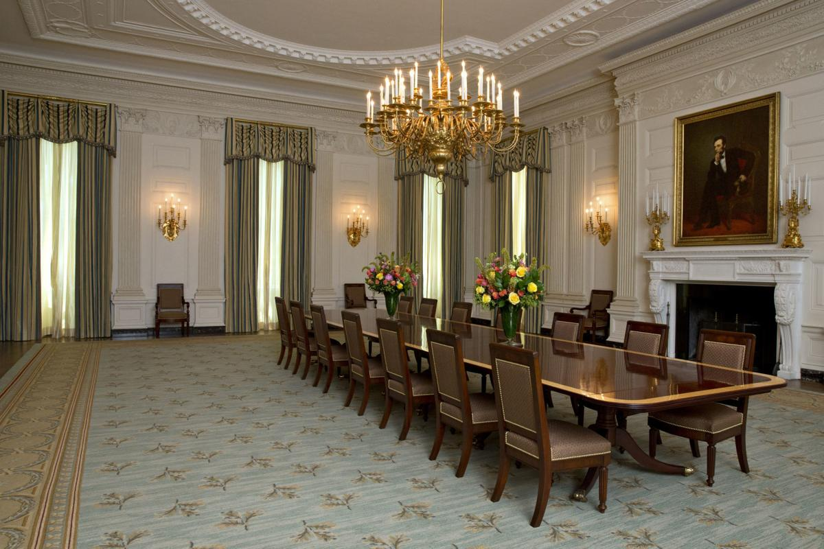 Michelle Obama State Dining Room
