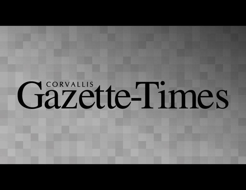 Gazette Times Logo Light Gray