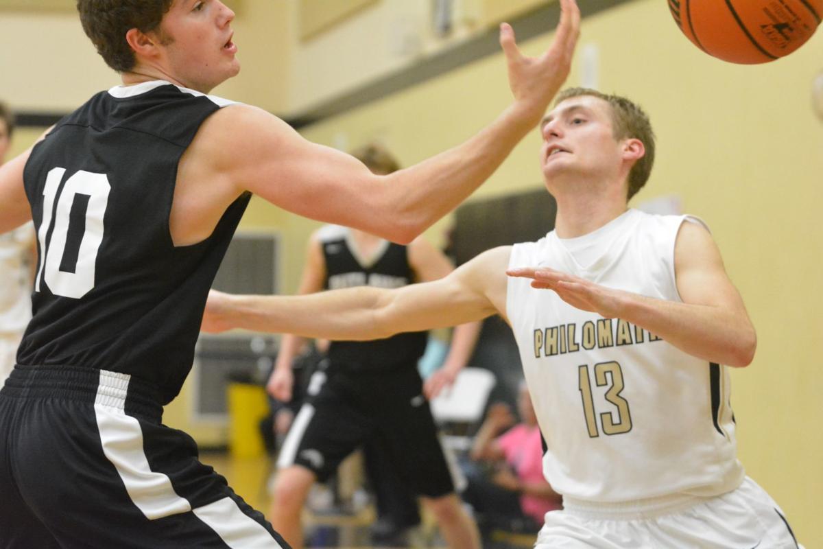 PHS boys basketball: Toby Stueve