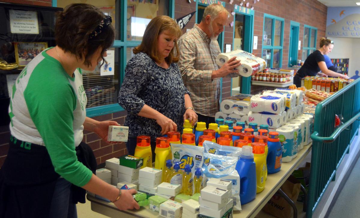 Food pack program: Assembly line