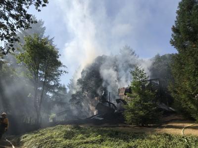 Barn Fire Philomath August 5