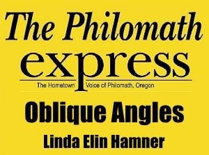 Philomath Express: Oblique Angles logo