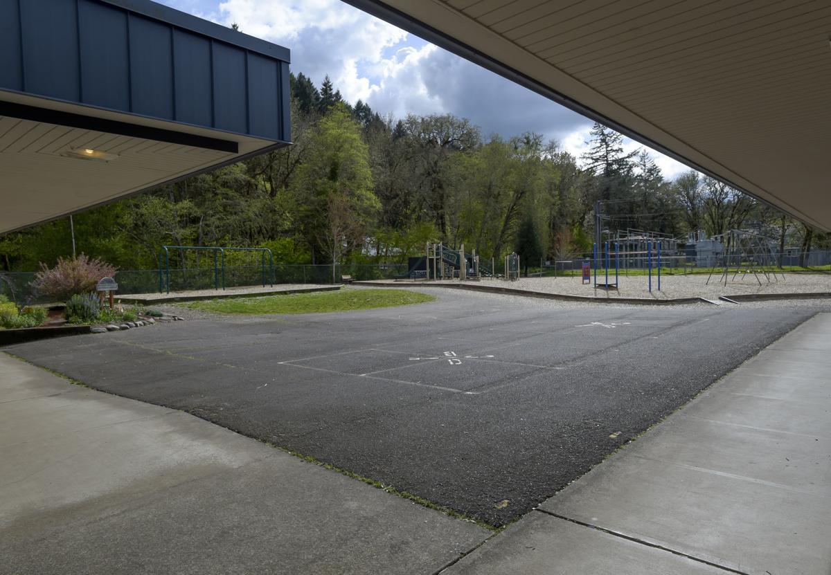 Hoover paved playground