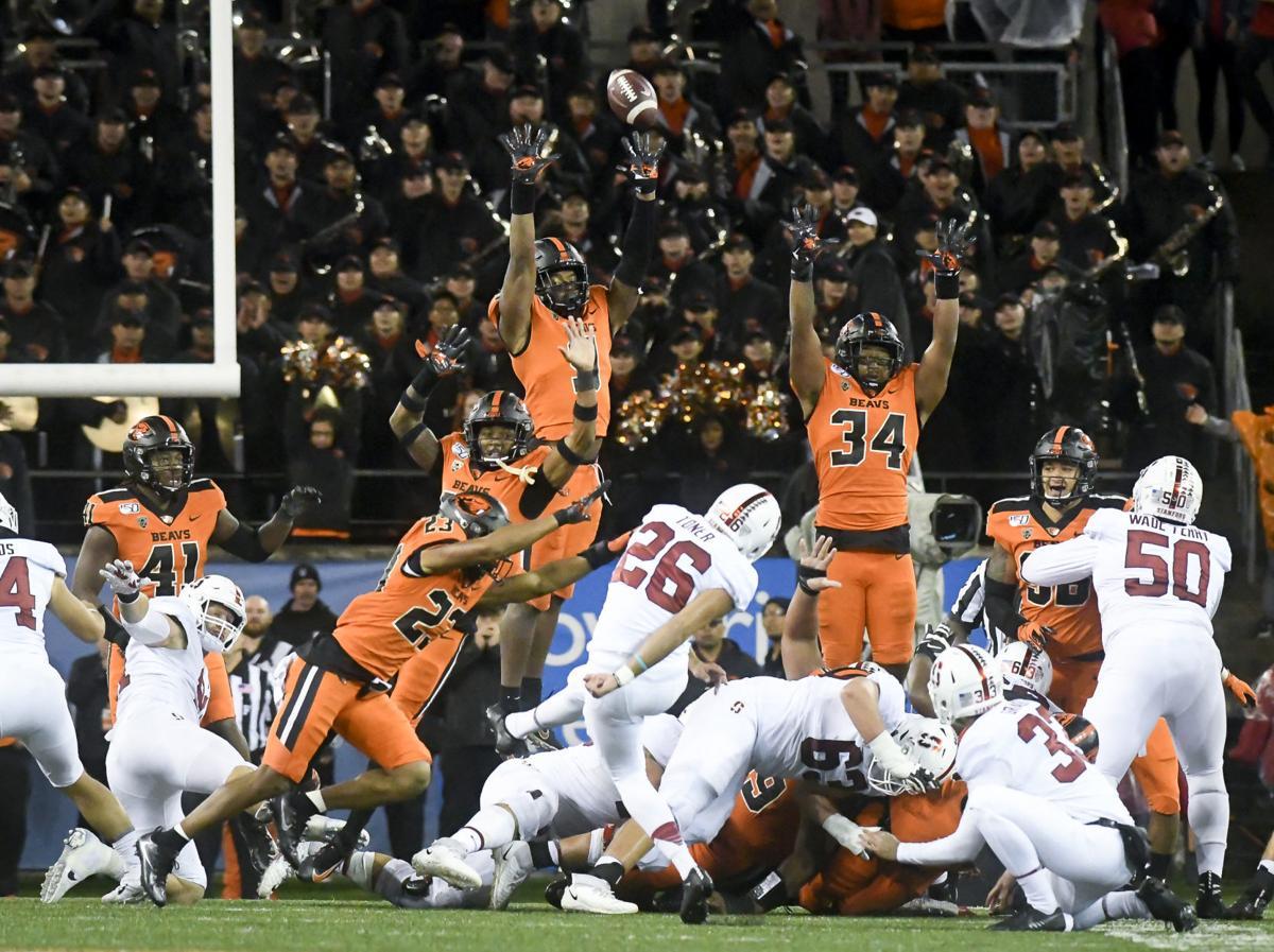 OSU Stanford football last score 1