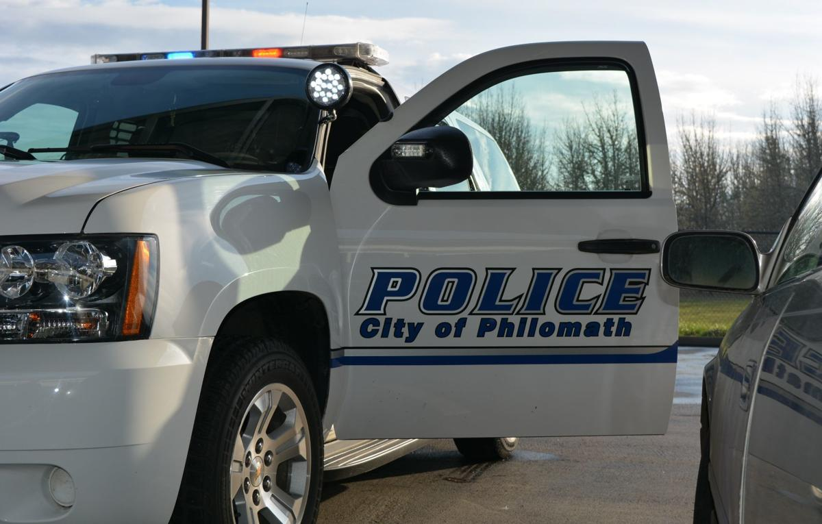 Philomath Police Department artwork