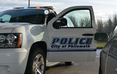 Philomath Police Department artwork