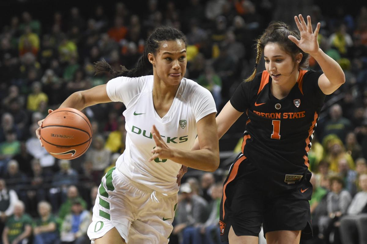 Oregon State vs. University of Oregon Women's Basketball