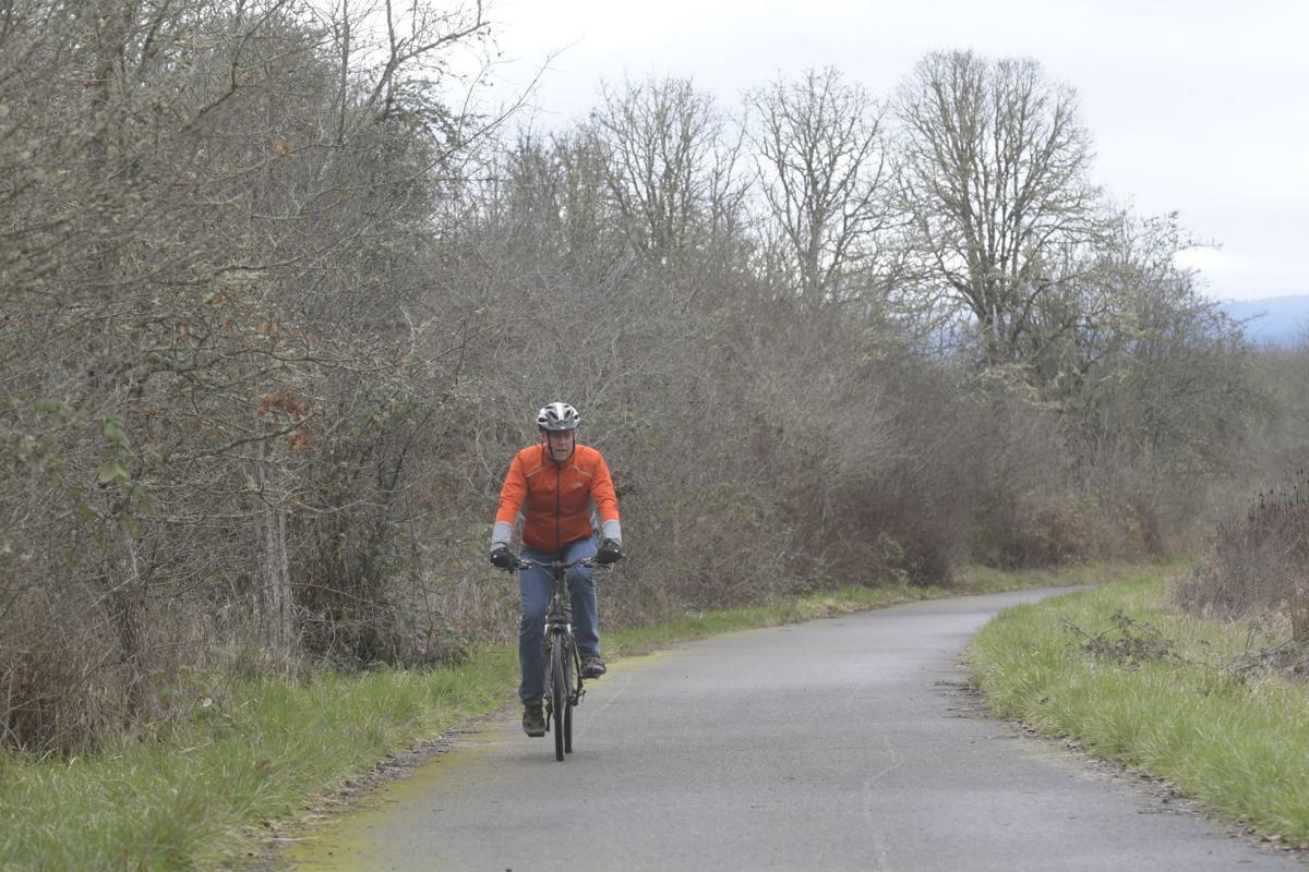 College Crest Bike Path