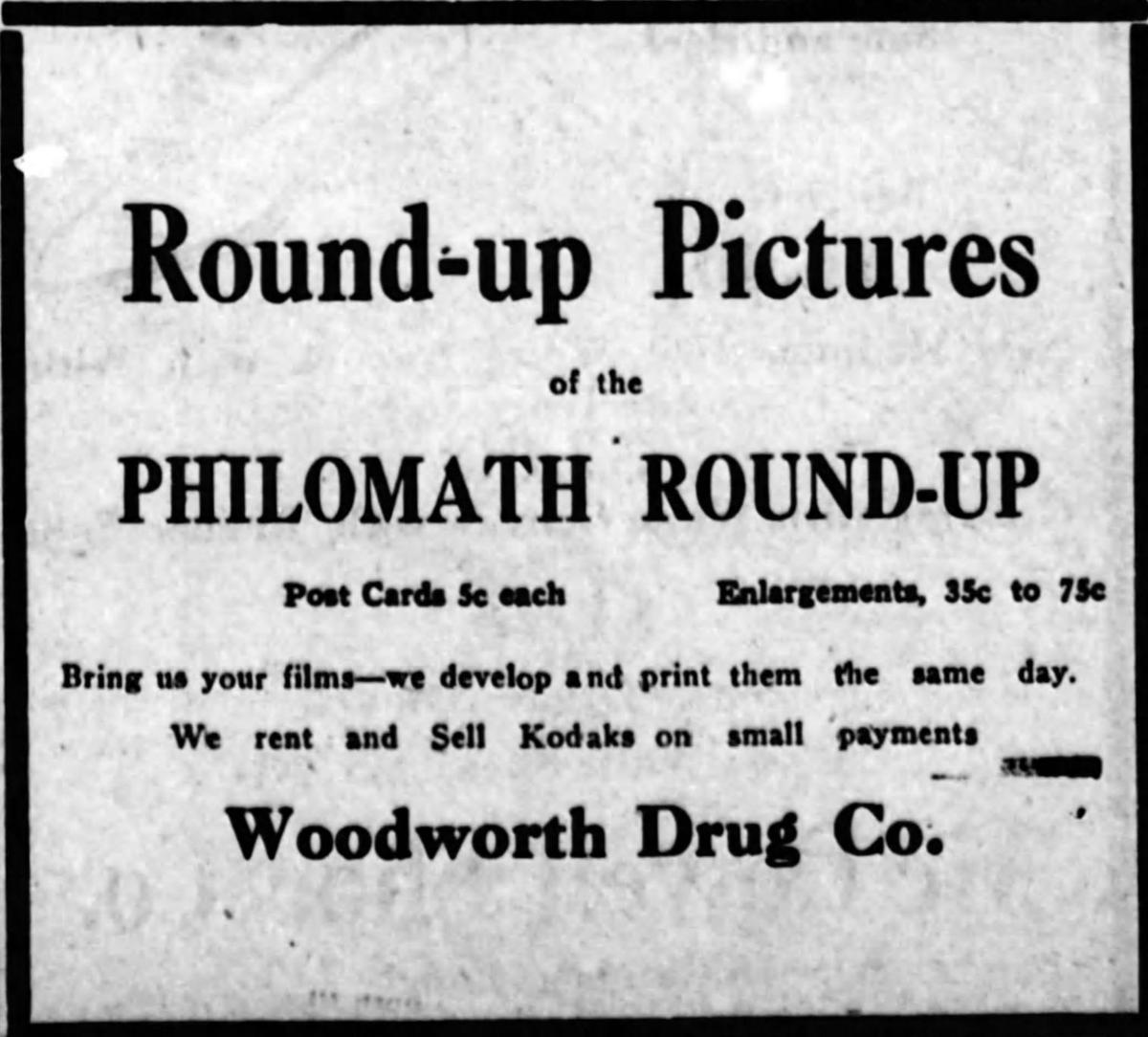 From the Past: 1917 Round-Up Pictures